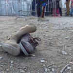 Chaussures, Réfugiés, Lesvos, Syrie, Grèce