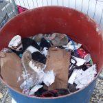 Chaussures, Réfugiés, Moria, Lesvos, Grèce, Syrie