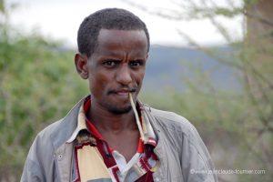 Brosse à dent africaine