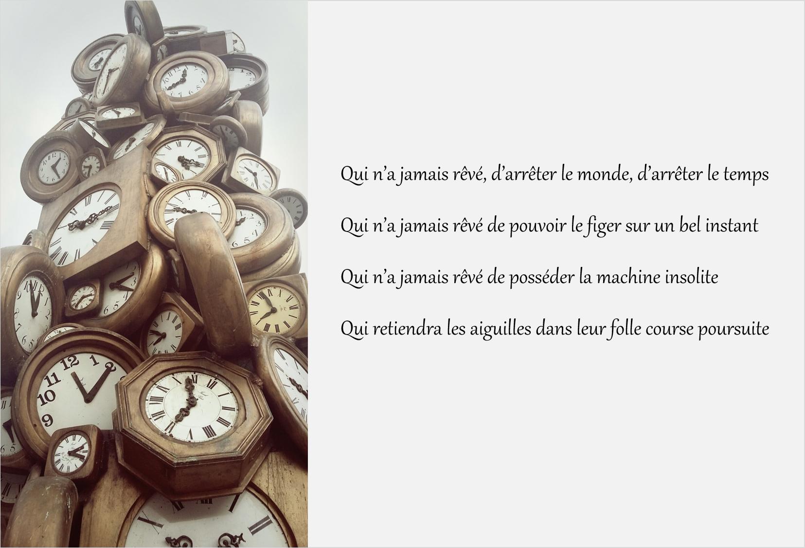 machine à arrêter le temps