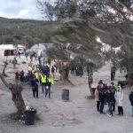 men with yellow vest in Moria