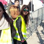 Beautiful volunteers at Moria's camp in Lesvos