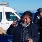 Ai Weiwei selfie