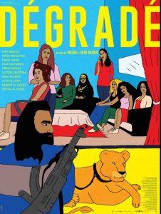 Affiche film Dégradé dessin