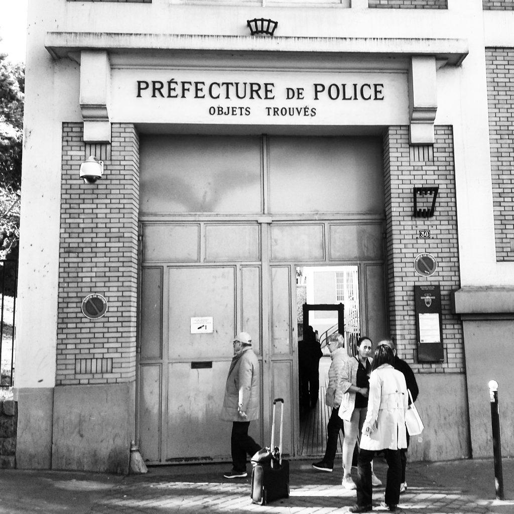 Paris, rue des Morillons