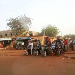 motos chinoises en Afrique