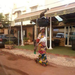 la rue à Bamako