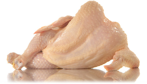 nude chicken