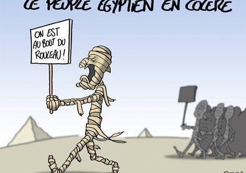 egypt comic strip