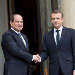 présidents français et egyptiens