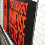 Affiche expo Palais de Tokyo