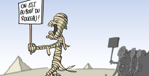 egypt comic strip